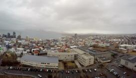 Reykjavik from Hallgrímskirkja Church