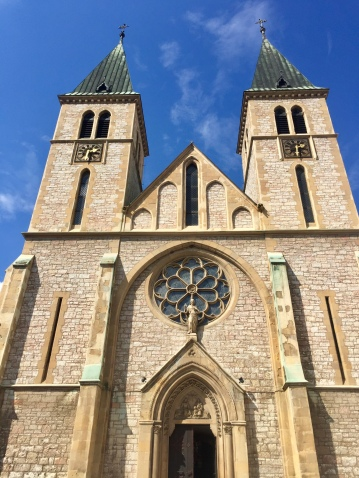 Sacred Heart Cathedral 19th-century Gothic-style Catholic church